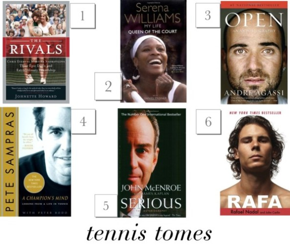 Tennis-Tomes