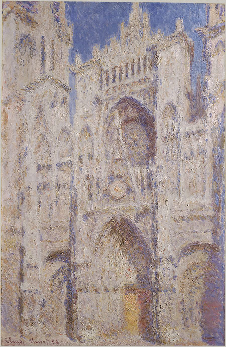 Claude Monet's Rouen Cathedral (where Emma and Leon infamously begin their liaison...) image source
