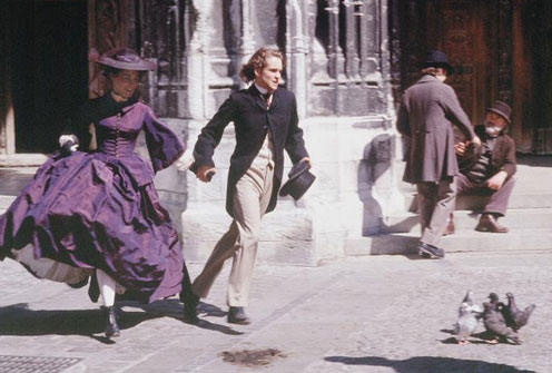 Emma and Leon literally running off to have some sex in the 1975 BBC adaptation. image source