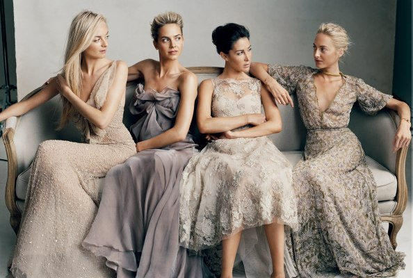 as shot by Norman Jean Roy in the August 2011 issue of Vogue