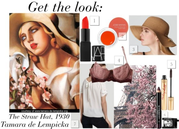 Get-The-Look-The-Straw-Hat-Tamara-de-Lempicka