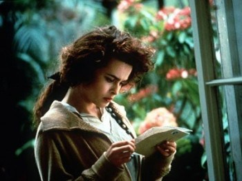 Fact:  When I was reading Howards End, I pictured Helen looking like a young Helena Bonham Carter WITHOUT ever seeing the movie version.  Pretty solid casting...
