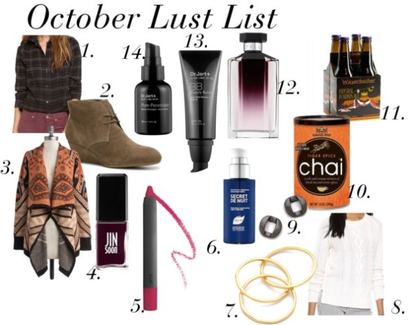 October-Lust-List