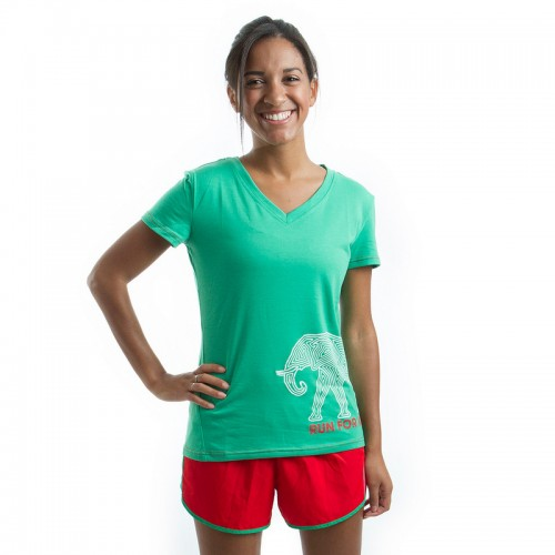 Janji Kenya Elephant Short Sleeve Shirt ($36)
