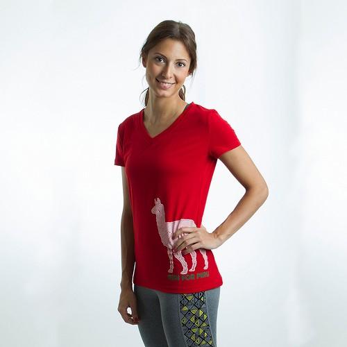 Janji Peru Llama Short Sleeve Shirt ($36)
