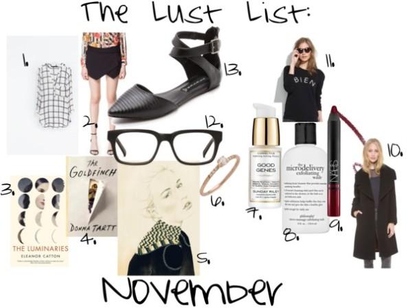The-Lust-List-November