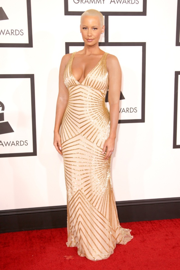 Amber-Rose-Grammy-2014
